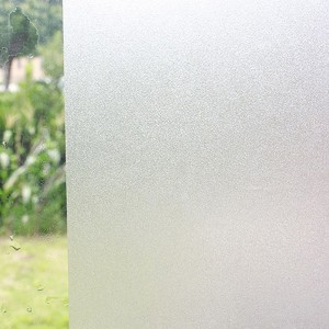 Non Adhesive Frosted Privacy Window Film Static Cling Vinyl Glass Film Home Office Decorative Window Sticker