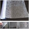 3D Laser Decorative Privacy Window Film Static Cling Frosted Glass Door Film Self Adhesive Vinyl Window Covering Film