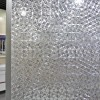 Cut Glass Crystal Ice Pattern Window Film Non Adhesive 3D Static Decorative Glass Privacy Film