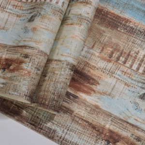 Distressed Wood Panel Effect Self Adhesive Peel And Stick Wallpaper