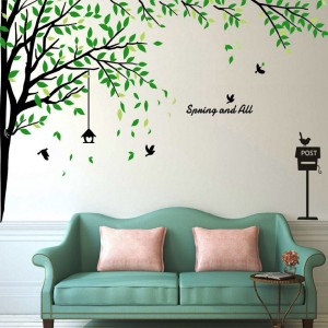 Large Corner Tree Wall Decals