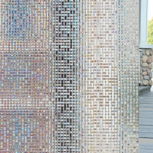 Mosaic Glass Privacy Window  Film