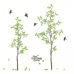 The Loving Tree Vinyl Wall Decals