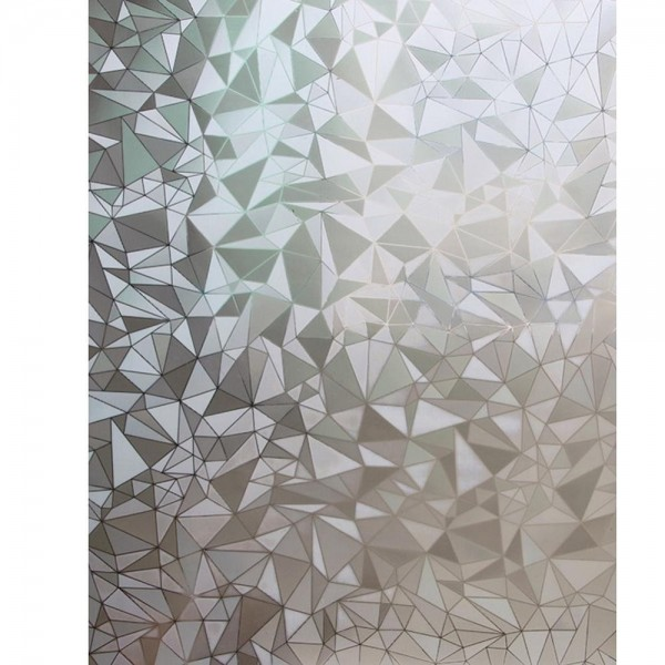3d Geometric Diamond Pattern Window Film Static Cling Frosted Glass Film Decorative Film For Window Wallsymbol Com