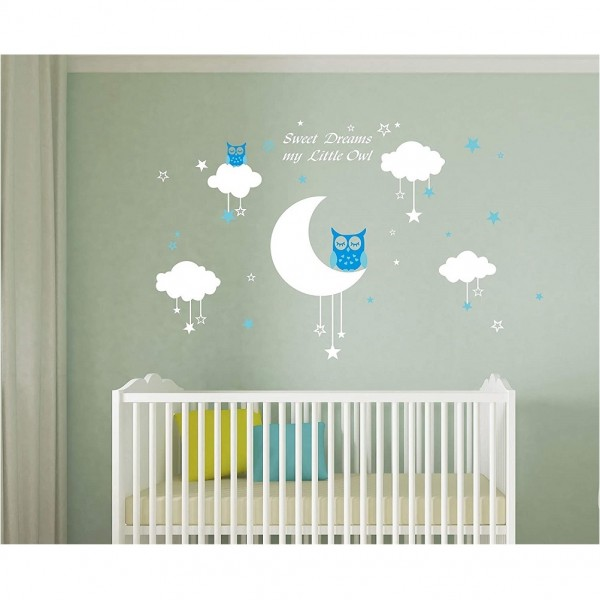 Sweet Dreams My Little Owl Nursery Wall decals