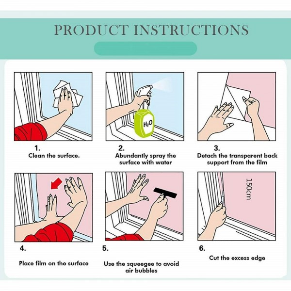 Window Film Installation Instructions